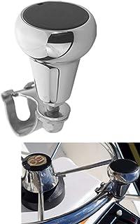 Marine Boat Steering Wheel Maneuvering Turning Control Knob, Universal AISI 316 Marine Grade Stainless Steel, Fits Steerin...