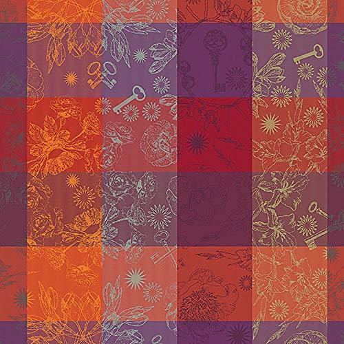 Garnier Thiebaut Mille Alcees Feu Serviette 100 % coton 56 x 56 cm