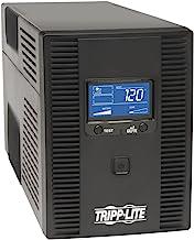 Tripp Lite 1300VA UPS Battery Backup, AVR, LCD Display, 8 Outlets, 120V, 720W, Tel &..