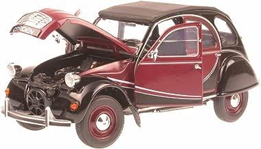 Citroen 2 CV 2CV 6 Ente Charleston schwarz-rot Modellauto Welly 1:24