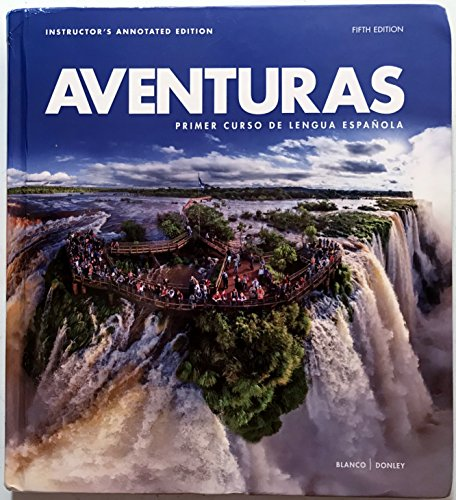 ADVENTURAS 5th Edition (Instructor's Annotated Edition)