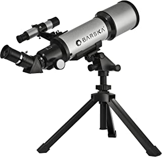 Starwatcher 400x70mm Refractor Telescope w/ Tabletop Tripod & Carry Case