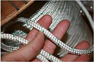 200 feet Double Braid Polyester Rope 3/8 4800Lbs BREAKING STRENGTH