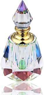 H&D Decorative Egyptian Glass Perfume Bottles Refillable Empty Bottle 4ML (Egyptian Perfume Bottle)