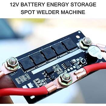 Portable Mini Connection 18650 Batteries Box Small Spot Welder DIY Device USA
