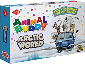 KAADOO Animal Buddy Arctic World Discovery Game - Play & Learn Kids Board Game-Fantastic Introduction for 6+ Year olds- Fu...
