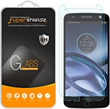 (2 Pack) Supershieldz for Motorola Moto Z and Moto Z Droid Tempered Glass Screen Protector, Anti Scratch, Bubble Free