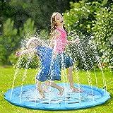 Fostoy Splash Pad, 68' Große Wasserspielmatte Sprinkler Wasserspielzeug Spielmatte Sprinkler Play...