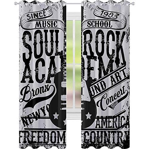 cortinas de dormitorio, Soul Rock Academy Tema de la Escuela de Música...