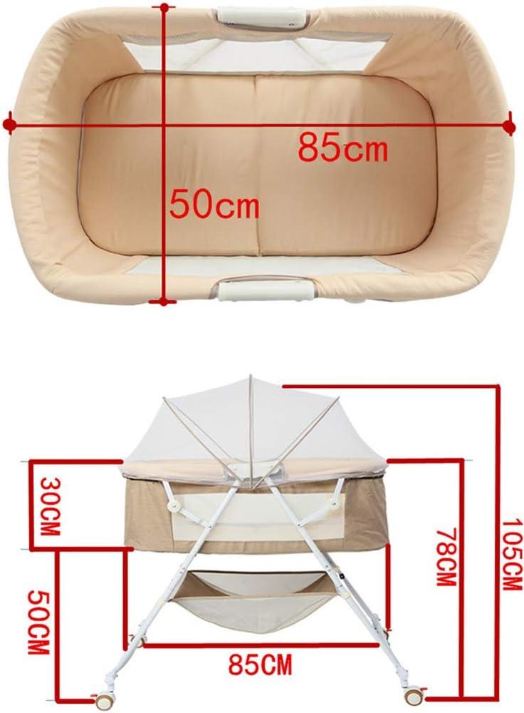 Lit Bébé Lit Berceau Nouveau-né Multi-fonction Réconfortant Bébé Portable Shaker Pliant Lit Berceau Européen Dormir (0-2 Ans) D D