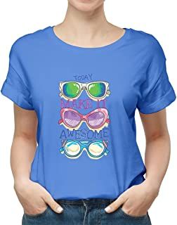 sunglasses make it awesome New modern T-shirt for women TSW-2971