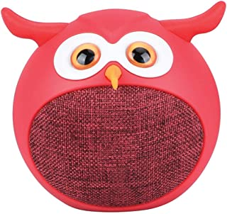 Promate True Wireless Speaker, Portable Mini Owl Bluetooth v5.0 Animal 3W Speaker with Built-In Microphone and 400mAh Rech...