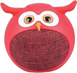 Mini Owl True Wireless Stereo Speaker, Hedwig Red