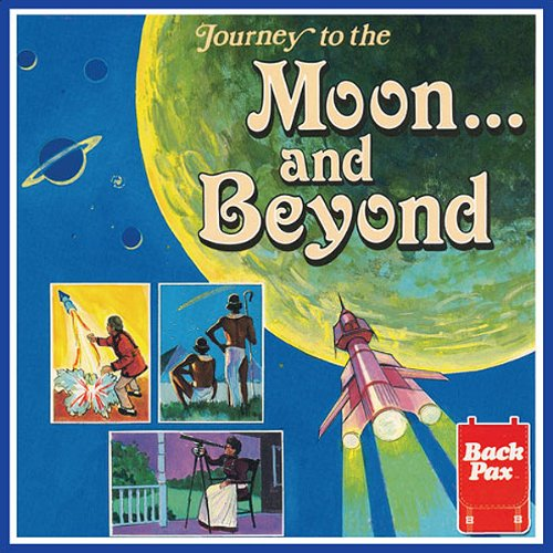 Journey to the Moon...and Beyond audiobook cover art