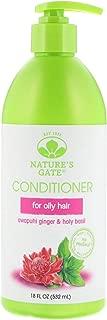 Nature's Gate Volumizing Conditioner, Awapuhi Ginger + Holy Basil 18 oz (Pack of 2)