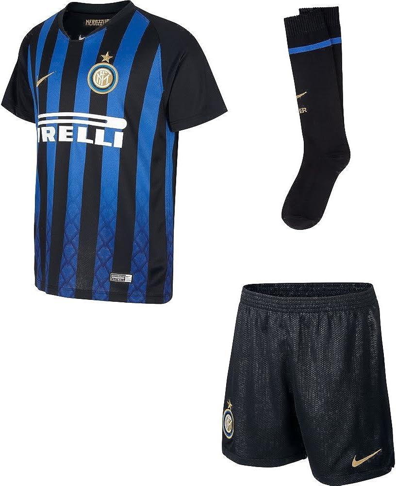 Nike Inter Home Kit Divisa da Calcio Bambino