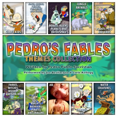 The Pedro's Fables Themes Collection audiobook cover art