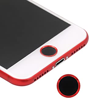 iPhone8 Home Button Sticker Support Fingerprint Identification Touch ID Black Red (Screen Protector-Mate), BLLQ Black RED Home Button Sticker for iPhone 8 iPhone 8 Plus iPhone7 Plus iPhone7 Black Red