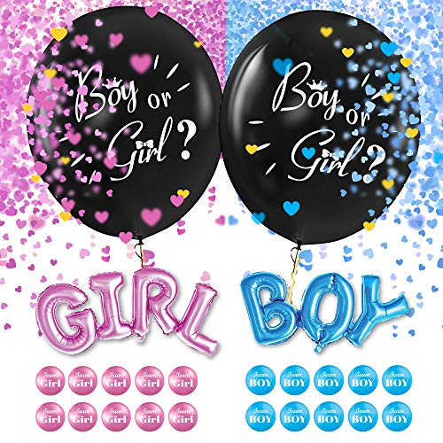Partibear Baby Gender Reveal Party Supplies Kit