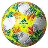 adidas(アディダス) サッカーボール 人工皮革 サーマルボンディング 4号球 小学生 キッズ 検定球 コネクト19 キッズ AF400 白×イエロー AF400 イエロー×ホワイト