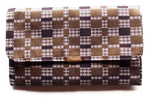 金封 ふくさ 袱紗 ( 念珠 数珠入れ 兼用) 帯織シリーズ モダン柄 (帯織5)