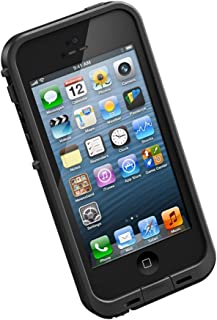 LifeProof FRĒ iPhone 5 Waterproof Case - Retail Packaging - BLACK (Discontinued by Manufacturer)