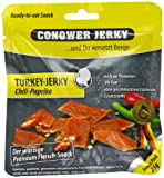 Conower Turkey Jerkey Chili-Paprika, 12er Pack (12 x 25 g)