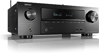 Denon AVR-X1600HDAB - Receptor AV de 7.2 Canales, Amplificador Hi-Fi, Compatible con Alexa, 6 entradas HDMI, Dab+, Bluetoo...