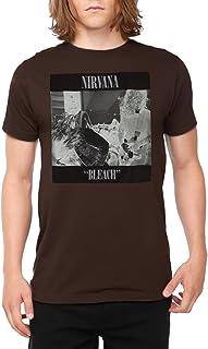 Nirvana Bleach Tape Photo Kurt Cobain Rock Official Tee T-Shirt Mens Unisex