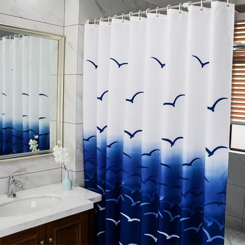 marca Cortinas de bao bao bao cortinas de ducha a prueba de agua a prueba de moho bao acolchado bao de ducha cortinas de bao cortinas de partición cortinas ( Talla   220200cm )  marca famosa