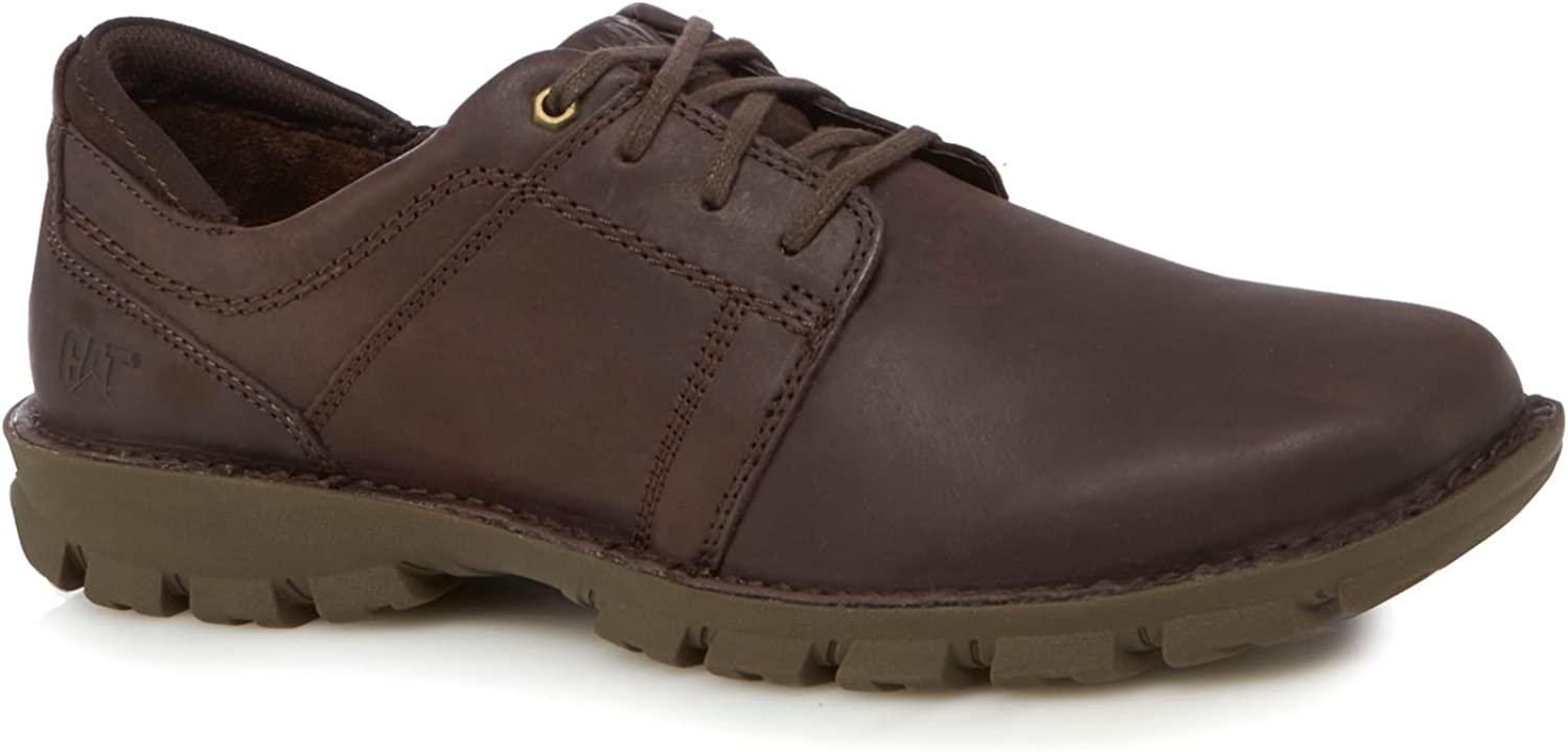 Caterpillar Men Brown Leather 'Caden' Lace-Up shoes