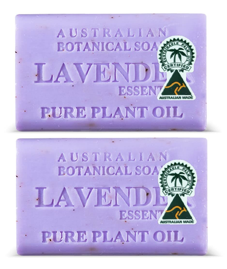 Australian Botanical Year-end annual account Soap - Lavender Bar 2 Oil with Essential Outlet SALE