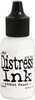 Ranger TXR40798 Distress Pad Re-Inker .5oz-Picket Fence