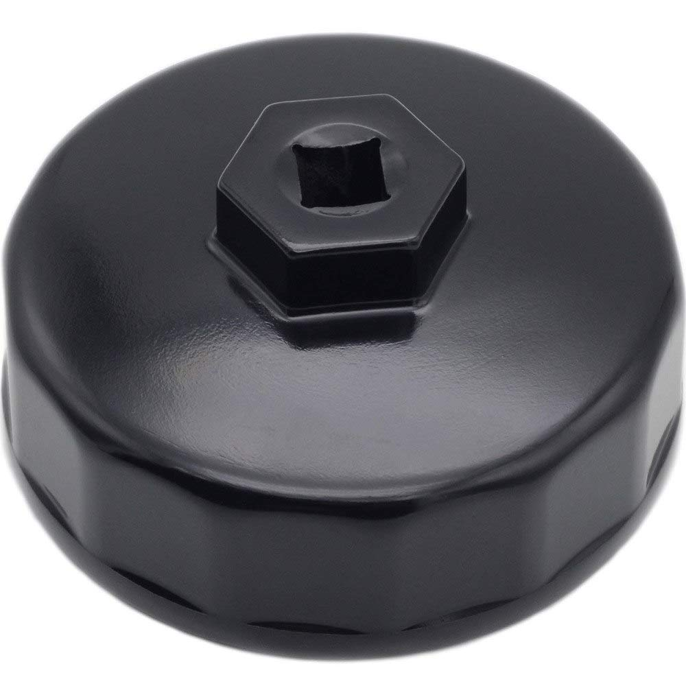 SHENYI 74mm 14 Flute Oil Filter Wrench Cap Housing Tool Socket Removal for Mercedes Benz C32 C36 C43 C55 AMG CL55 AMG CL500