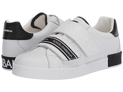 Dolce & Gabbana Kids Sneaker Classica Pium+Pium.Ter (Big Kid) (Bianco/Nero) Kid
