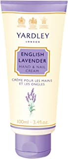 Yardley of London English Lavender Hand and Nail Cream for Women, 3.4 Ounce