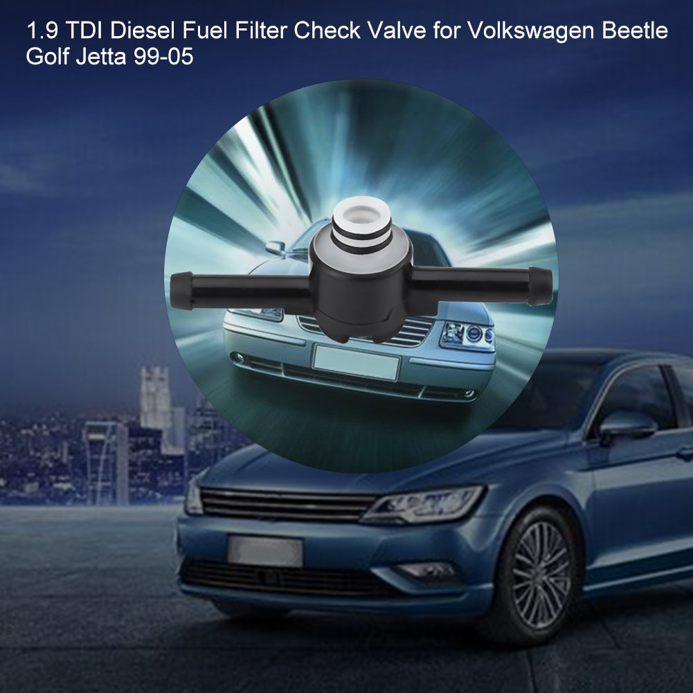 [DIAGRAM_4PO]  Amazon.com: Qiilu 1.9 TDI Diesel Fuel Filter Check Valve for Volkswagen  Beetle Golf Jetta 99-05 1J0 127 247 A: Electronics | Vw 1 9 Tdi Fuel Filter Check Valve |  | Amazon.com