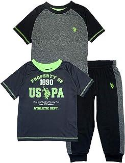 US Polo Assn Little/Big Boys Short Sleeve Tops...