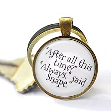 After All This Time? Always Said Snape, Severus Snape, Keychain