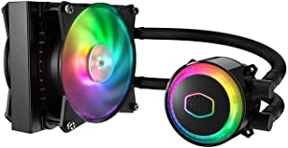 Cooler Master MasterLiquid ML120R Addressable RGB All-in-One CPU Liquid Cooler Dual Camera Intel/AMD Support Cooling Procesador refrigeración