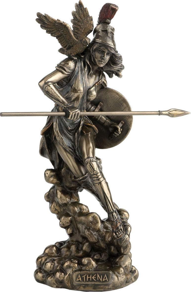 Athena Greek Finally resale start Goddess of and Wisdom War Statue 5 ☆ very popular