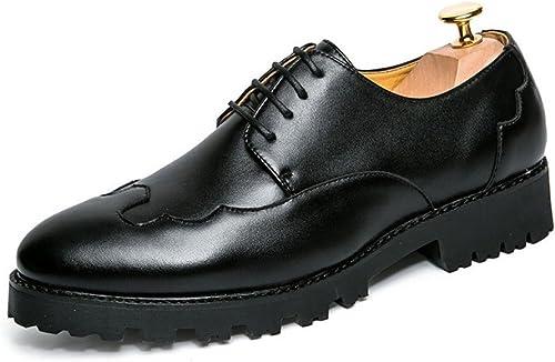 ASJUNQ Herrenschuhe England Spitz Mit Business-Schuhen