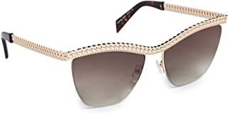 Moschino Clubmaster Sunglasses for Women - Brown Lens, MOS010/S 06JHA