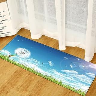 Kök halkfria golvmattor, sovrum vardagsrum entré dörrmattor för heminredning, badrum tvättbara mattor NO.11 60 x 180 cm