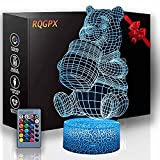 XKUN Verwendet For3D Led Nachtlicht 4D Illusion La