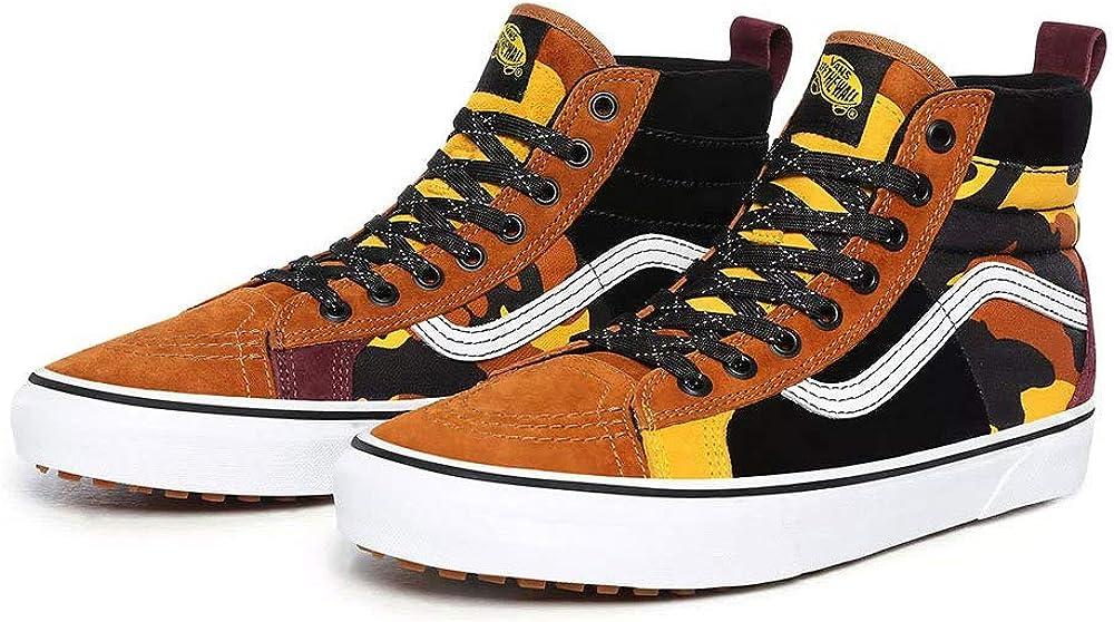 Vans Men's Sk8-Hi 46 MTE DX (Multi/Yellow) Fashion Sneaker Shoes
