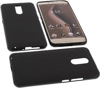 foto-kontor Funda para Ulefone Gemini Protectora de Goma TPU para móvil Negra