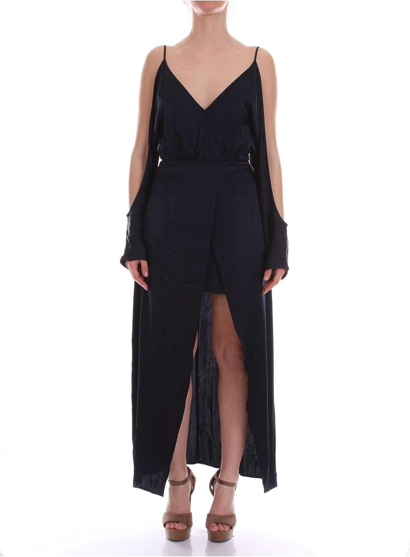 Jovonna London Women's POOMIblueNOTTE bluee Cotton Dress