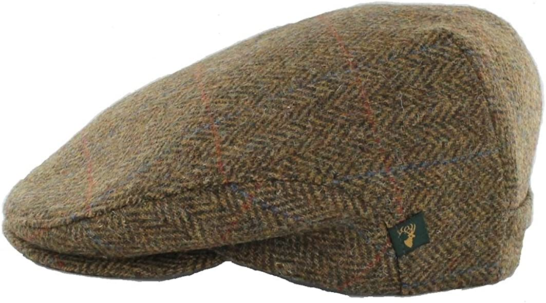 Herringbone Cap Men's Wool Classic Designed Popular popular in Irel Fit Slim NEW before selling ☆