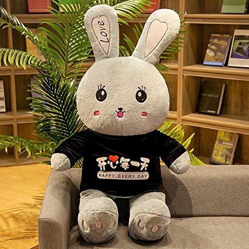 CPFYZH 80Cm-100Cm Conejo de Peluche de Juguete de Peluche Suave Disfraz de Animal de Dibujos Animados mueca de Conejo Regalo de cumpleaos para nios-80Cm_17